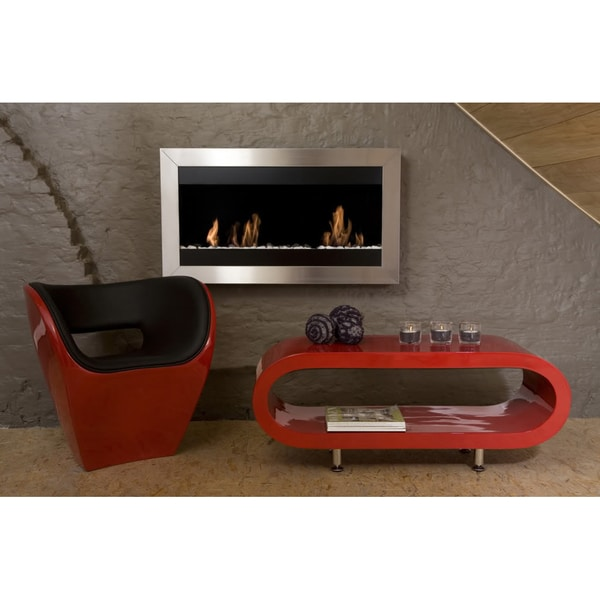 Bio-Blaze Square Wall Mounted Fireplace