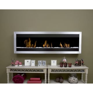 Bio-Blaze Square Wall-mounted Fireplace