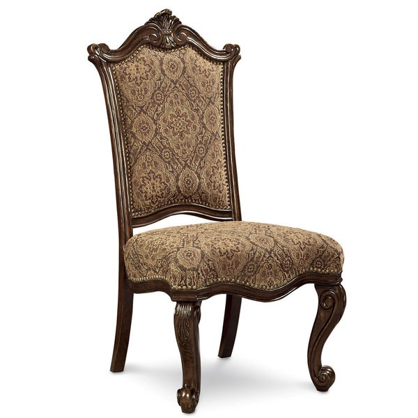 Grand European Upholstered Side Chair (Set of 2)