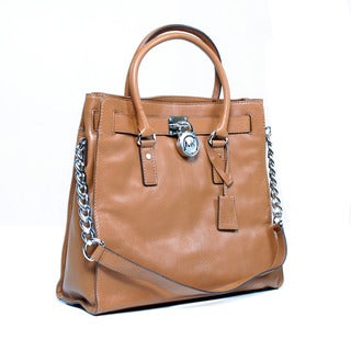 MICHAEL Michael Kors Hamilton Large Leather Tote