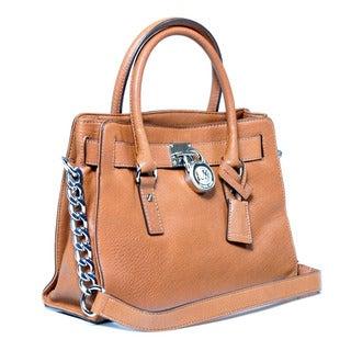 MICHAEL Michael Kors Hamilton Leather Satchel Bag