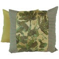 Windsong Gold Pieced Pillows 14 x 12 (Set of 2)