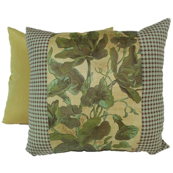Windsong Gold Pieced Pillows 14 x 12 (Set of 2)