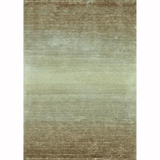 Hand-tufted Josephine Beige Rug (5' x 7'6)