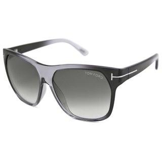 Tom Ford TF188 Federico Crystal Grey Sunglasses