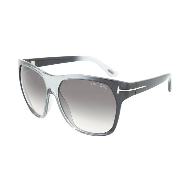 Tom Ford TF188 Federico Crystal Grey Sunglasses