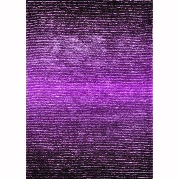 Hand-tufted Josephine Purple Rug (5' x 7'6)