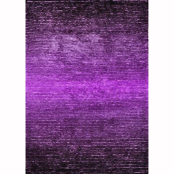 Hand-tufted Josephine Purple Rug (7'9 x 9'9)