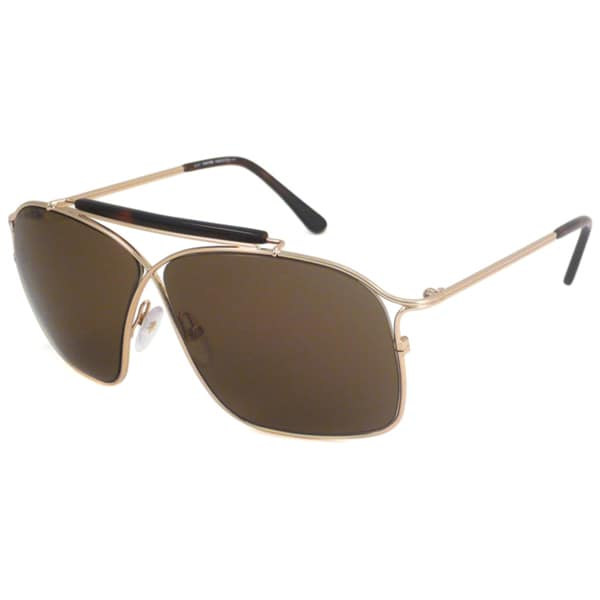 Tom Ford Women's TF194 Felix Gold Havana Aviator Sunglasses