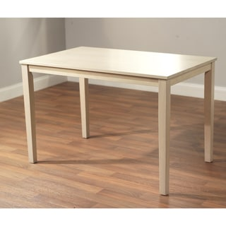 Shaker Dining Table in White Wash