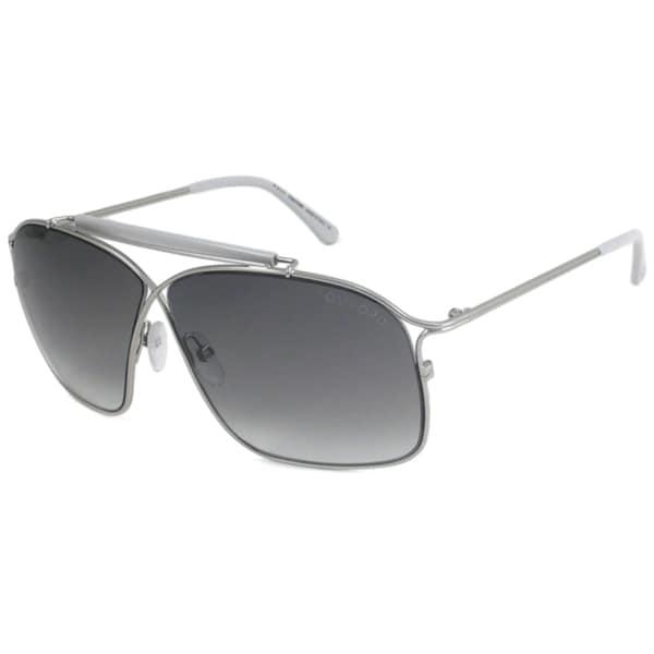 Tom Ford TF194 Felix Silver Aviator Sunglasses