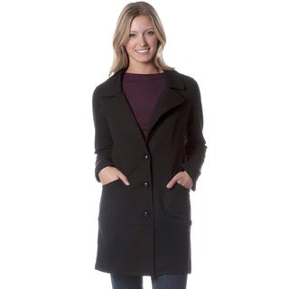AtoZ Tees Women's Fleece-lined Overcoat