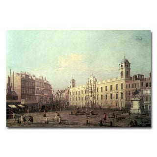 Canaletto 'Northumberland House' Canvas Art