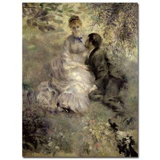 Pierre Auguste Renoir 'The Lovers c.1875' Canvas Art