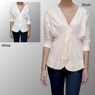 AtoZ Women's Breezy Blouse