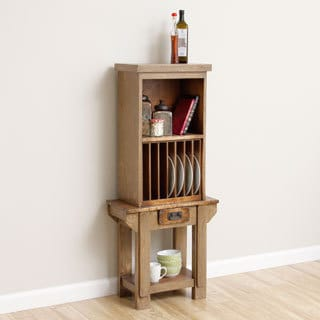 Blacksmith Kitchen Storage Wall Unit With Plate Rack (Indonesia)