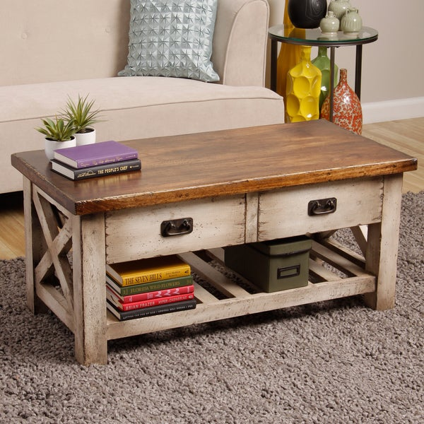 Herring island coffee table indonesia overstock for Top rated coffee tables