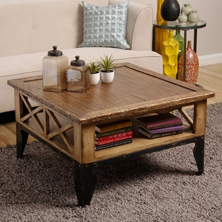 Rex Square Coffee Table (Indonesia)