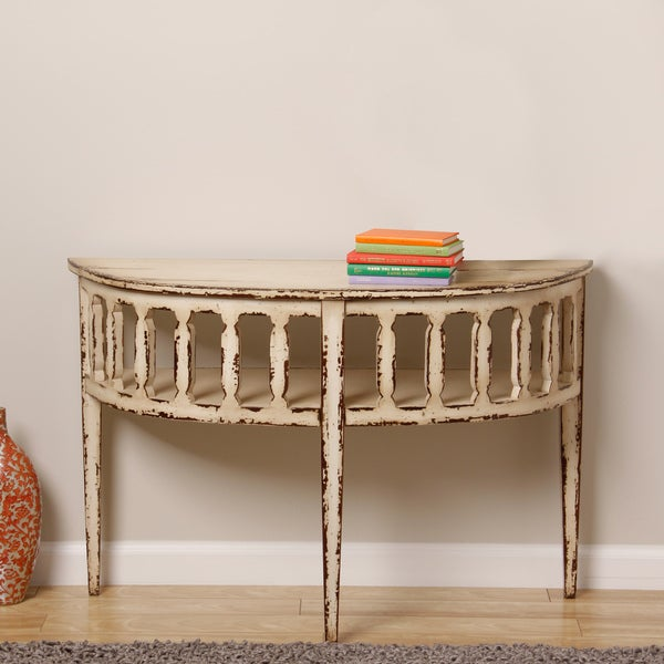 Beverly Demilune Console Table (Indonesia)