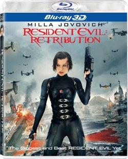 Resident Evil: Retribution 3D (Blu-ray Disc)