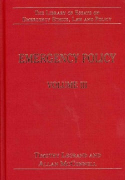 Emergency Policy (Hardcover)