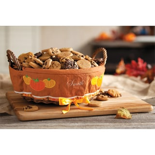 Mrs. Fields Pumpkin Patch Lined Nibblers� Basket