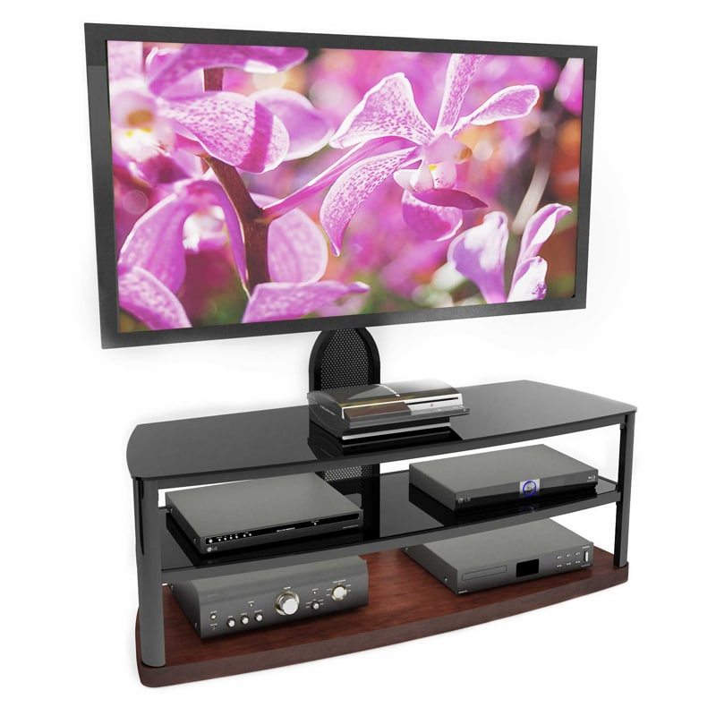 Sonax Bandon 52-inch Flat Panel TV Mount Wood Veneer TV Stand at Sears.com
