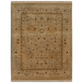 Hand-knotted Oriental Gold Wool Area Rug (2' x 3')