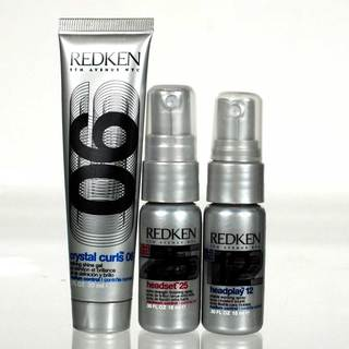 Redken Crystal Curls Headset and Headplay 3-piece Travel-size Set