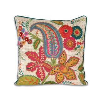 Marlo Lorenz Vandy Floral 18x18-inch Pillow