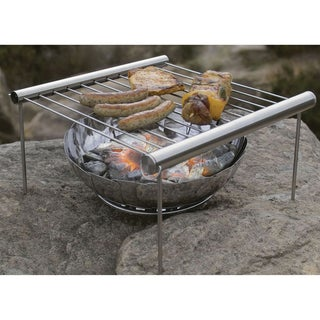 Industrial Revolution 'Grilliput' Stainless Steel Firebowl and Backpacking Grill
