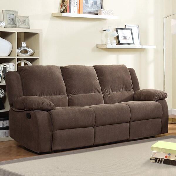 Arista Dark Olive Dual Recliner Sofa