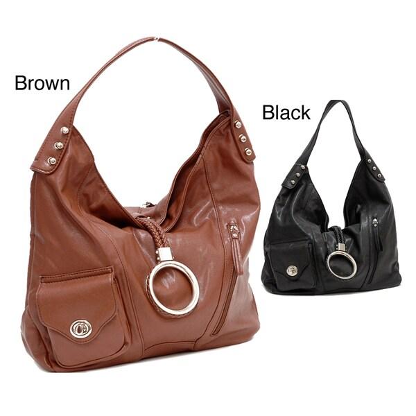Dasein Multi-pocket Hobo Bag