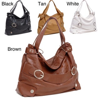 Dasein Double-Handle Hobo Bag