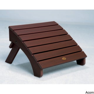 Highwood Eco-Friendly Synthetic Wood Folding Adirondack Ottoman