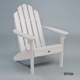 Highwood Eco-Friendly Synthetic Wood Classic Adirondack Beach Chair