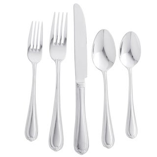 Maison Luxe 18/10 'Legend' 45-piece Flatware Set