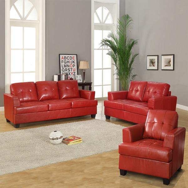 Home / Modern Red Leather Living Room Set UR7140 Global Furniture Part 61