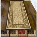 Amalfi Scroll Area Rug Runner (2&#39;2 x 7&#39;7)