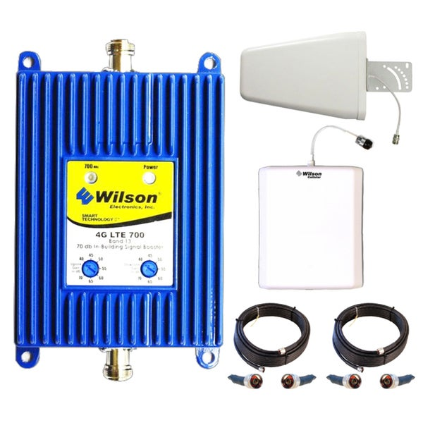 Wilson 4G LTE Cell Phone Signal Booster Kit with Antennas