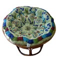 Celebration Papasan Peacock Sage Cushion