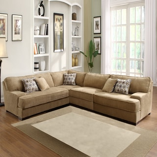Tara Beige Chenille Sectional