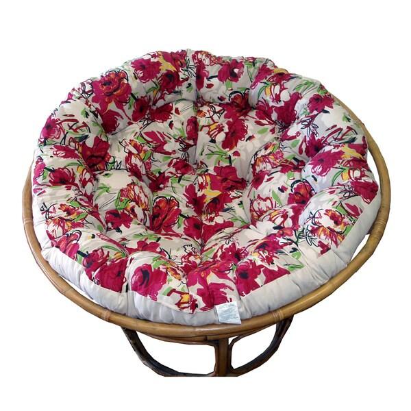 Celebration Papasan Roses Cushion
