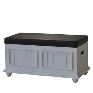 Notting Hill Padded-top Storage Trunk