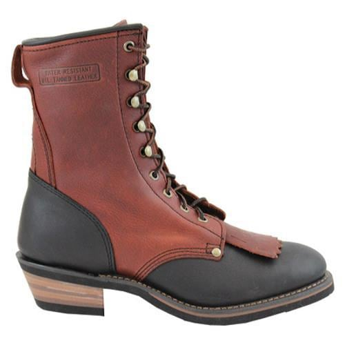 Men's AdTec 1179 Packer Boots 9in Chestnut/Dark Cherry