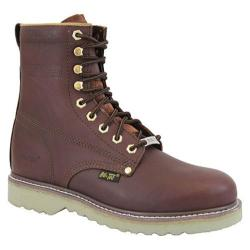 Men's AdTec 1312 Work Boots 8in Steel Toe Redwood