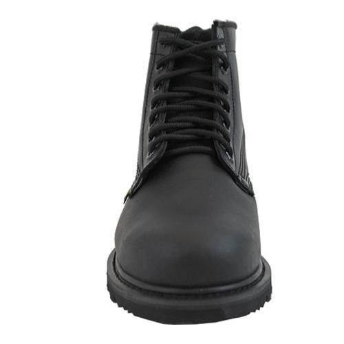 Men's AdTec 1400 Uniform Boots 6in Steel Toe Black
