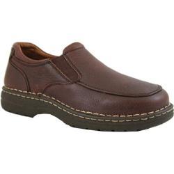 Men's AdTec 1412 Comfort Gold Casual Slip-On Brown