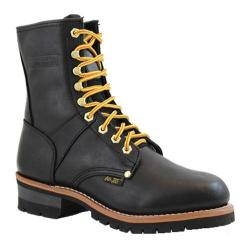 Men's AdTec 1439 Logger Boots 9in Black