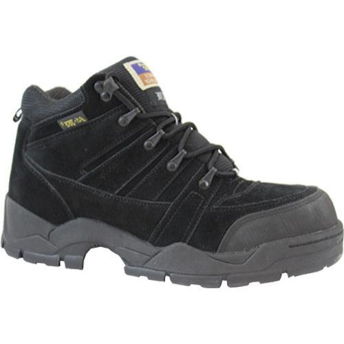 Men's AdTec 1835 Hiker 6in Steel Toe Black